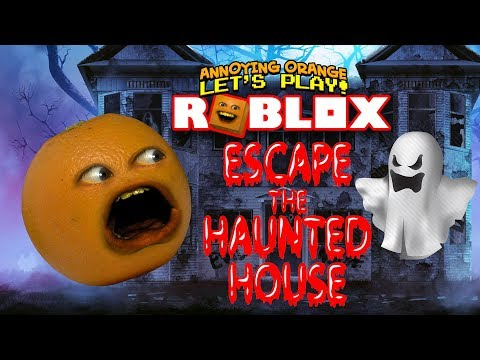Roblox: Haunted House Obby! [Annoying Orange Plays]