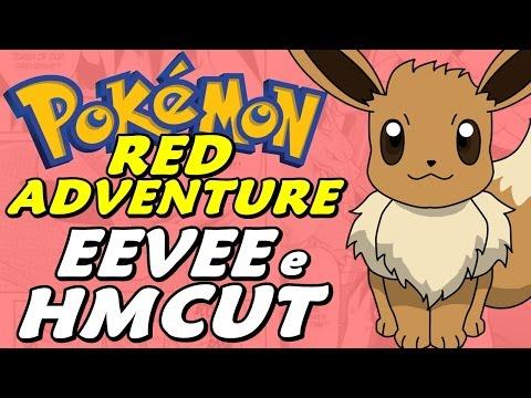 Pokémon Adventure Red Chapter (Detonado Parte 12) Eevee e HM Cut