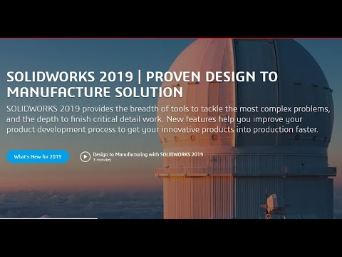 What's New in SOLIDWORKS 2019