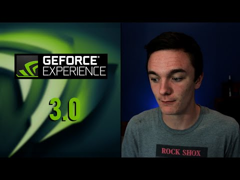 How To Record Your Desktop Using Geforce Experience 3.0 - Record Desktop With New Geforce Experience