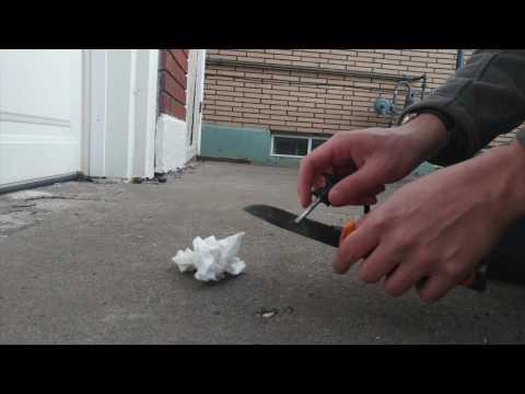 Survival Video Flint and Steel Nicholas Larmond