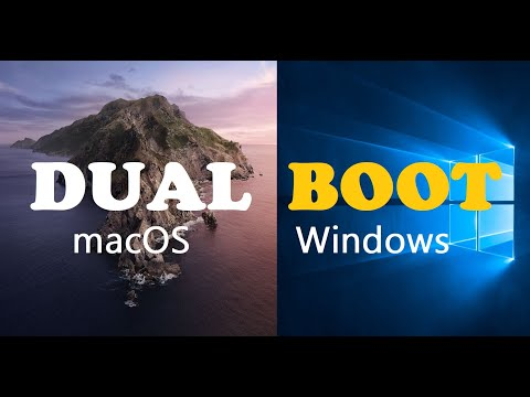 How To Dual Boot MacOS Catalina And Windows 10 On A PC (Complete Hackintosh Guide)