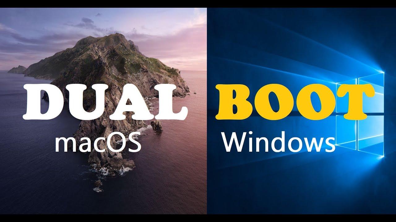 Dual boot mac os and windows 7