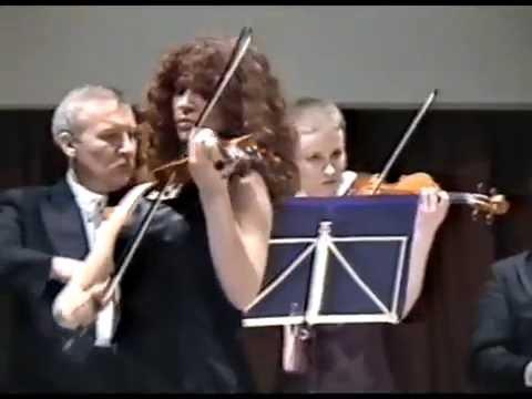 T. Vitalli: Ciacona for violin and orchestra  - Anežka Kara (17 years old ) VHS