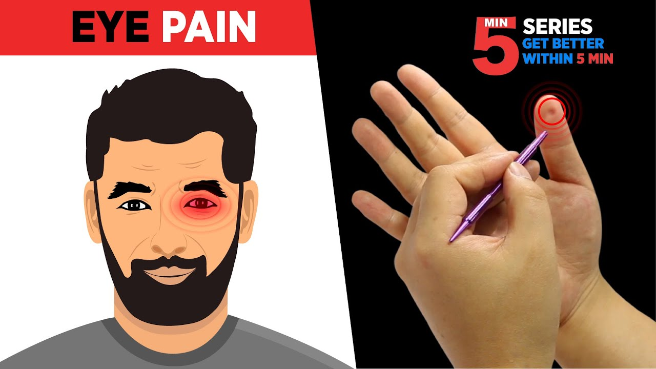 Sujok Treatment for Eye Pain👁️😖(ON RIGHT HAND) - YouTube