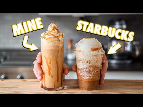 Making Starbucks Drinks At Home   But Better