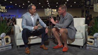 Pat McAfee interviews his own coach, Chuck Pagano | NFL Fan Pass