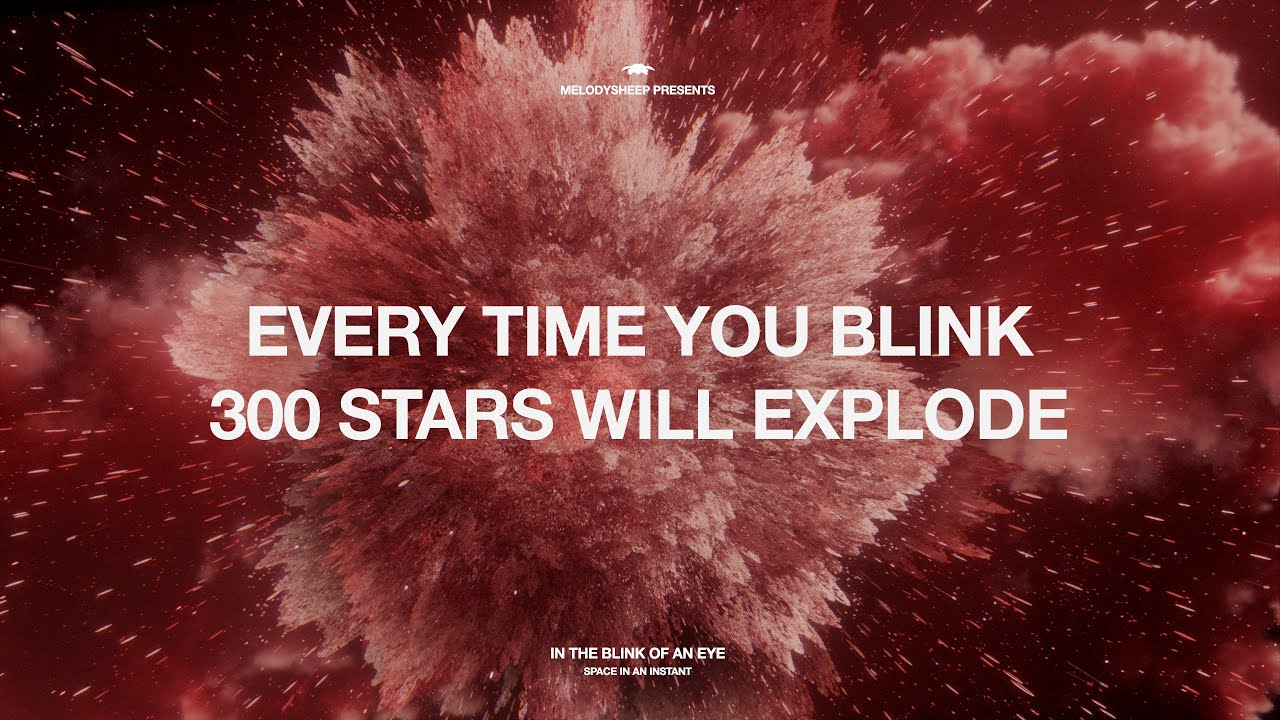 In the Blink of an Eye : #Space in an Instant