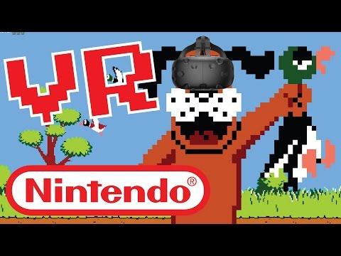 JUEGOS DE NINTENDO EN REALIDAD VIRTUAL - Hunting Duck (VR)
