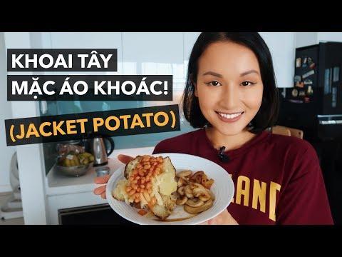 CÙNG LÀM KHOAI TÂY MẶC ÁO KHOÁC! (JACKET POTATO) | Vlog | Giang Ơi