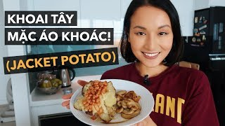 LET'S MAKE JACKET POTATO! | Vlog | Giang Ơi