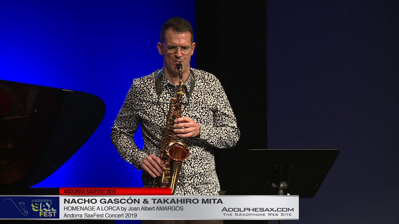 Nacho Gascon & Takahiro Mita - Homenaje a Lorca by Joan Albert Amargós