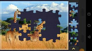 Magic Jigsaw Puzzles - Fŗee Game / Gameplay level 10