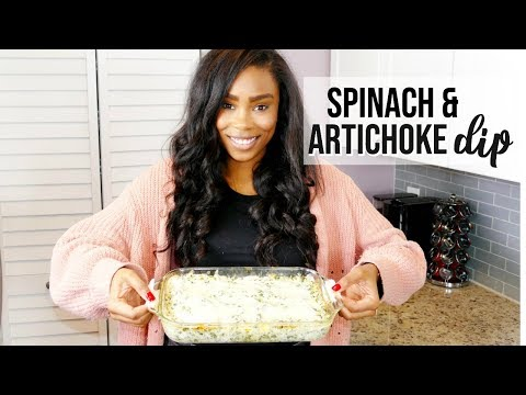 SPINACH AND ARTICHOKE DIP | LoveLexyNicole