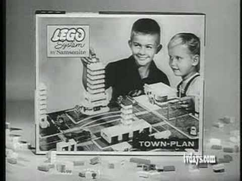 lego systems 1960 youtube