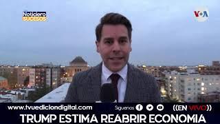 Trump estima reabrir economia en pascua