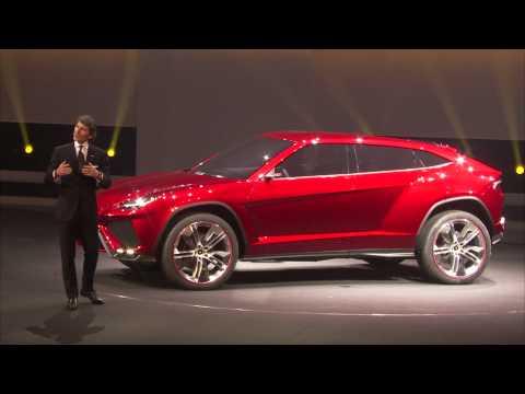 Lamborghini Urus - The SUV super athlete (unveil)