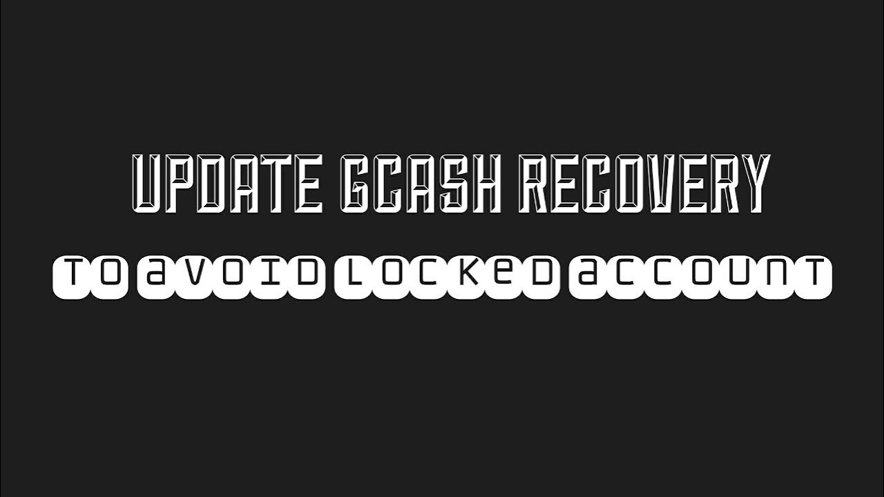 GCASH ACCOUNT RECOVERY SETUP ( Gcash Reset Pin/Mpin )