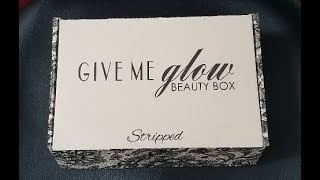 Give Me Glow - Stripped - Beauty Box August with Swatches