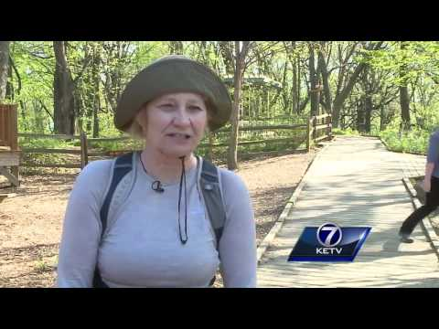 Spring has sprung, bringing families to the Fontenelle Forest