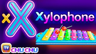 Phonics Song (Xylophone Version) - A For Apple - ABC Alphabet Songs...
