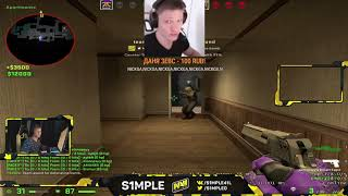 S1mple Plays Faceit 20190319