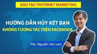 Hướng dẫn hủy những người không tương tác trên Facebook Profile cá nhân
