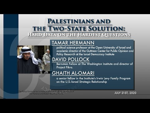 Palestinians and the Two-State Solution: Hard Data on the Hardest Questions