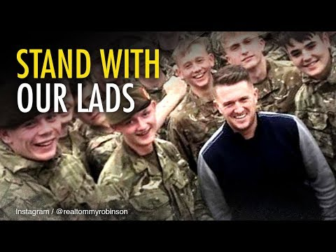 Tommy Robinson: Stop the political witch hunt against British troops