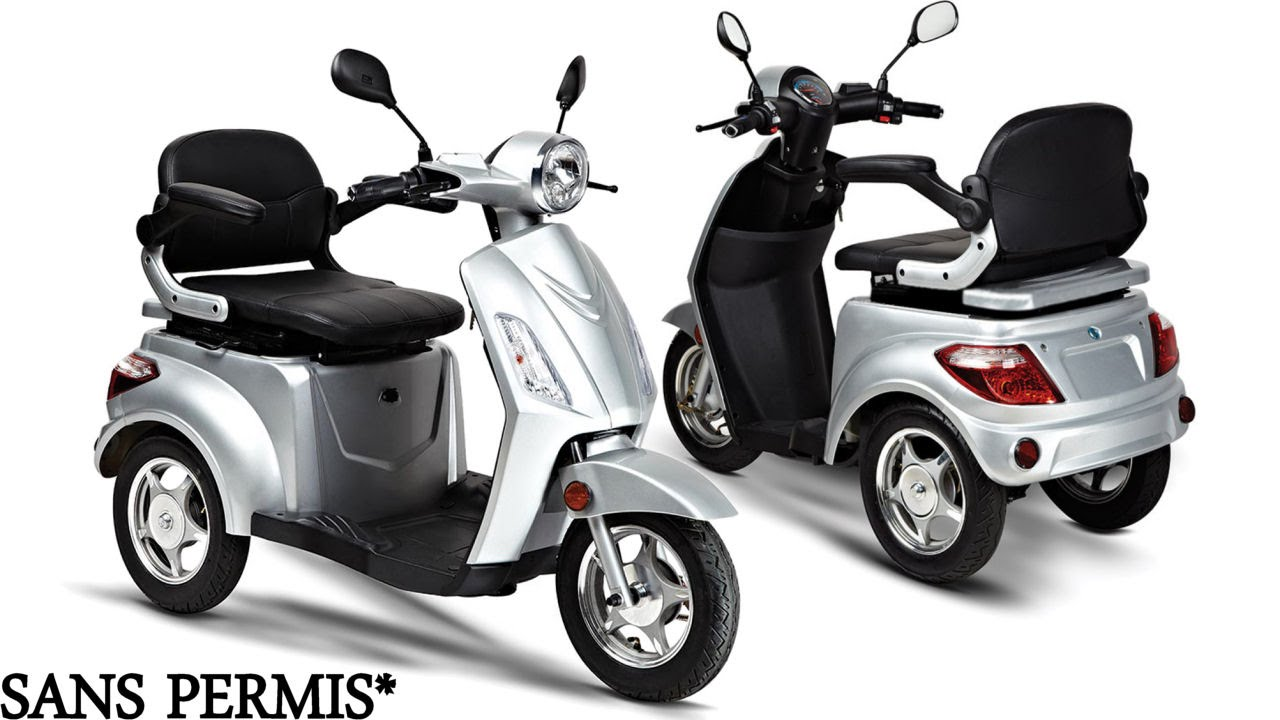 scooter 3 roues deltascoot mod le shopy 800 youtube. Black Bedroom Furniture Sets. Home Design Ideas