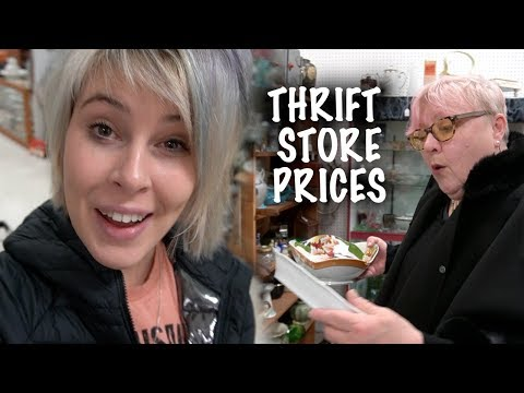 HUGE Antique Mall, Thrift Store PRICES! | Shop with Us | Reselling