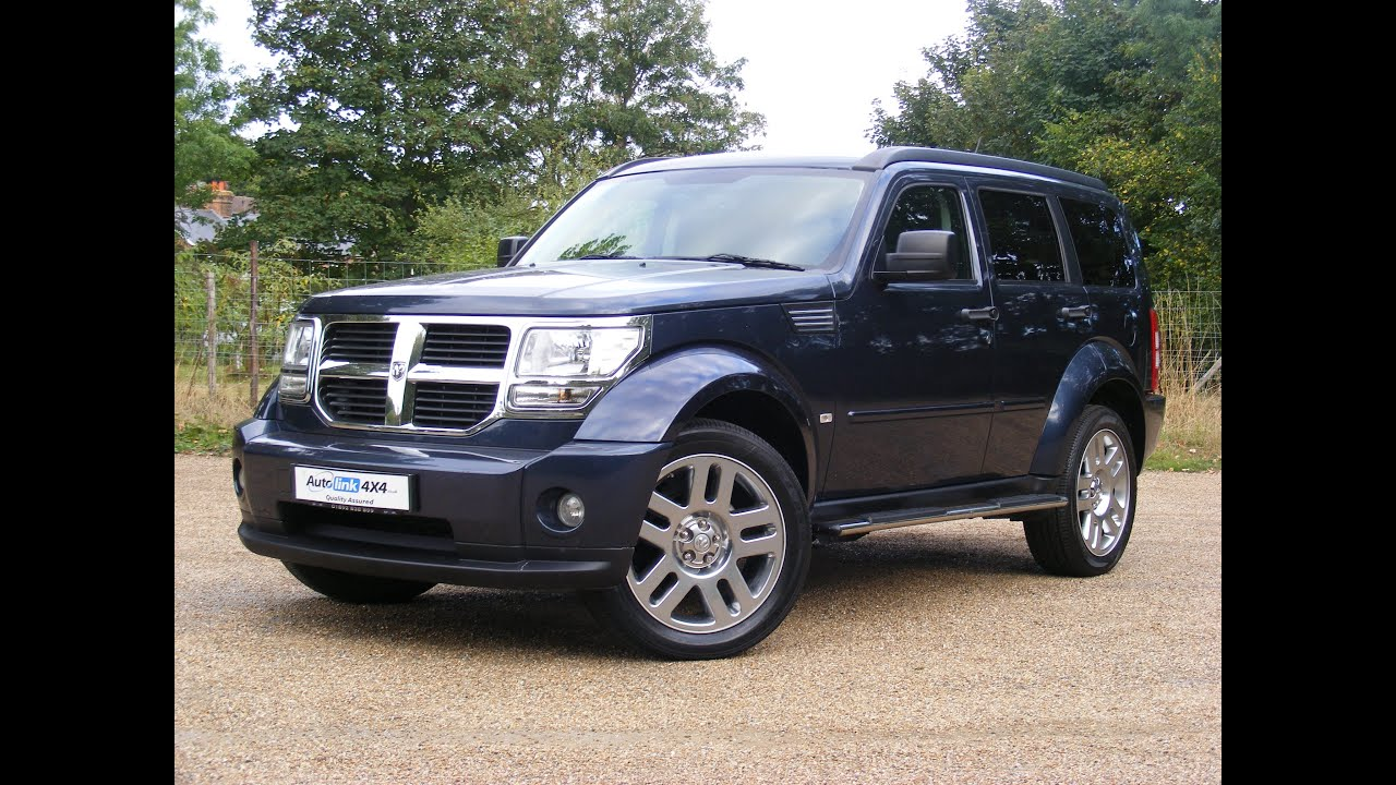 2009 dodge nitro 2 8 crd sxt 4x4 for sale in tonbridge kent youtube. Black Bedroom Furniture Sets. Home Design Ideas