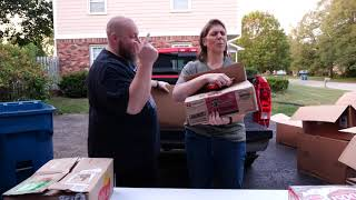Blind Opening Of Massive Food Pallet - 700 LB Food - Part 3