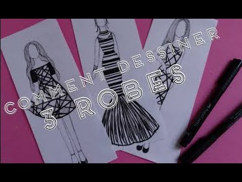 Comment dessiner une robe de mariage doovi - Apprendre a dessiner violetta ...