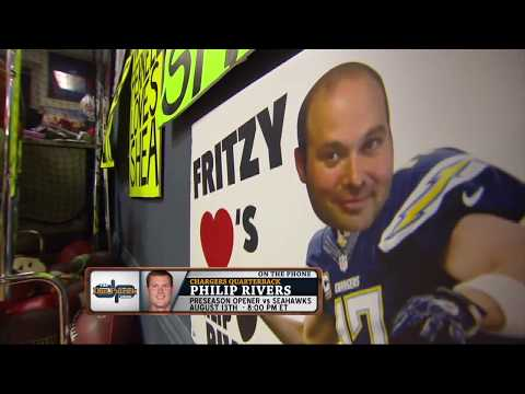 Dan Patrick Breaks the News to Philip Rivers: Fritzy Doesn