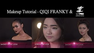 Makeup Inspiration and Tutorial With QIQI FRANKY