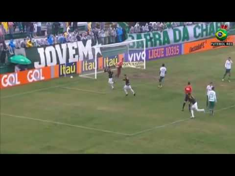 Gols:Chapecoense 3x1 America-MG 22/05/16(brasileirao serie a)