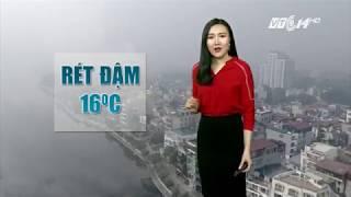 VTC14 | Thời tiết 6h 14/12/2017| Thời tiết lạnh, người dân đề phòng bệnh hô hấp