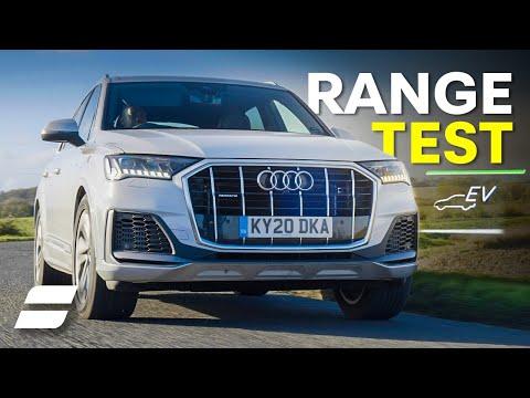 Audi Q7 Plug-In Hybrid: Electric-Only Range Test!   4K