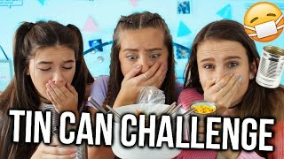 TIN CAN CHALLENGE WITH EVABLIA | Oliviagrace