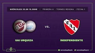 UAI Urquiza 2 - 1 Independiente | #VamosLasPibas | Fútbol femenino