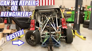 Assessing The Damage And Repairing On Our Wrecked Turbo K-Swapped SmartCar!