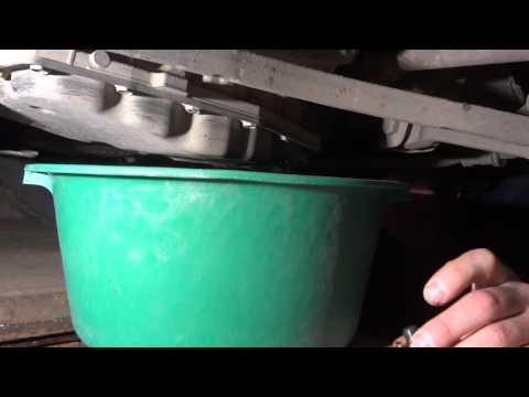 Гранта автомат частичная замена масла