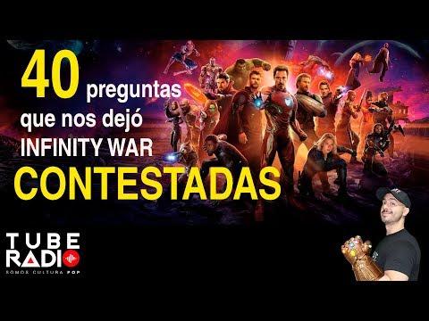 40 preguntas que nos dejó Infinity War ¡CONTESTADAS!