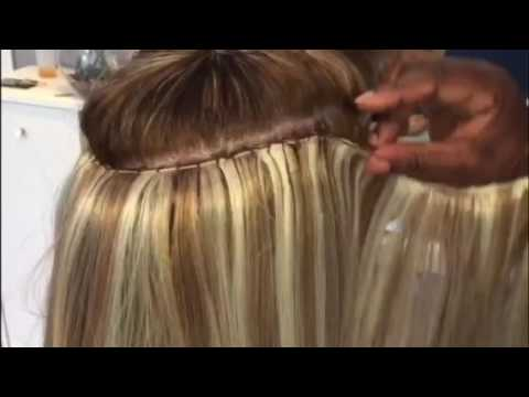 Perfect weave Caucasian hair  YouTube