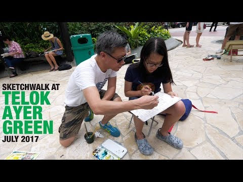 Sketchwalk At Telok Ayer Green (Jul 2017)
