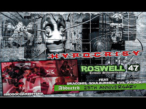 Hypocrisy . Roswell 47 cover (Feat: Soulburner - Draconis -Evil Attack)