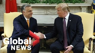 Trump invites Hungary