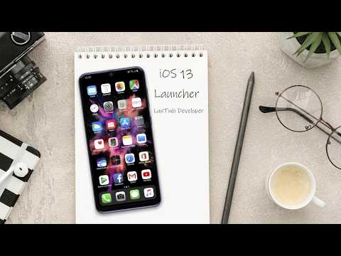 [iOS 14 Lancher] iOS 14 Launcher for Android Preview