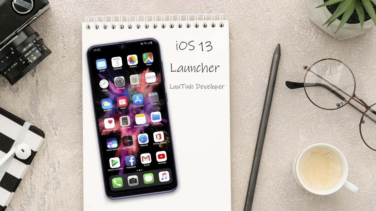 [iOS 13 Lancher] iOS 13 Launcher for Android Preview